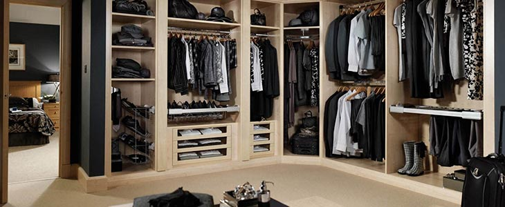 Dressing room interior design idea