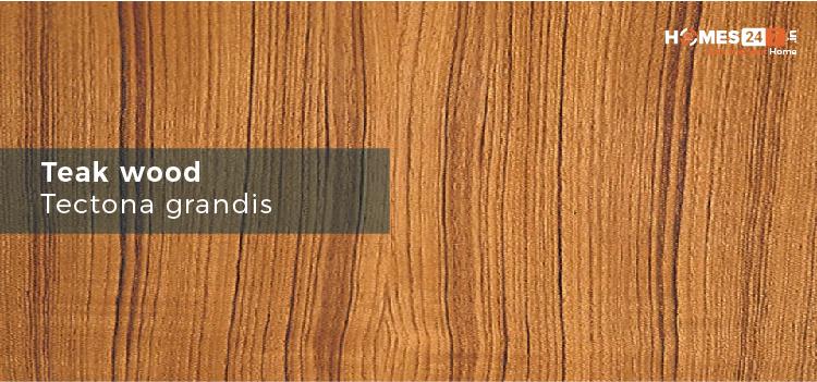 Teak Wood - Types of Wood Used for Furniture