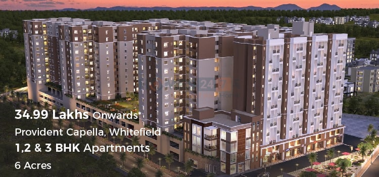 Provident Capella-Affordable Housing in Whitefield