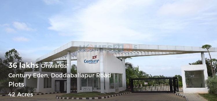 Century Eden -Plots in North Bangalore