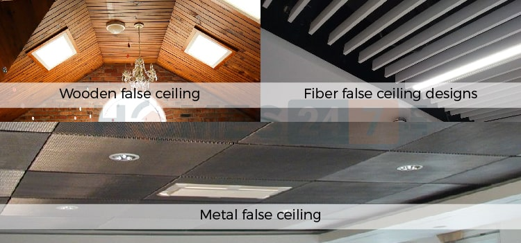 Sloped Roof False Ceilings