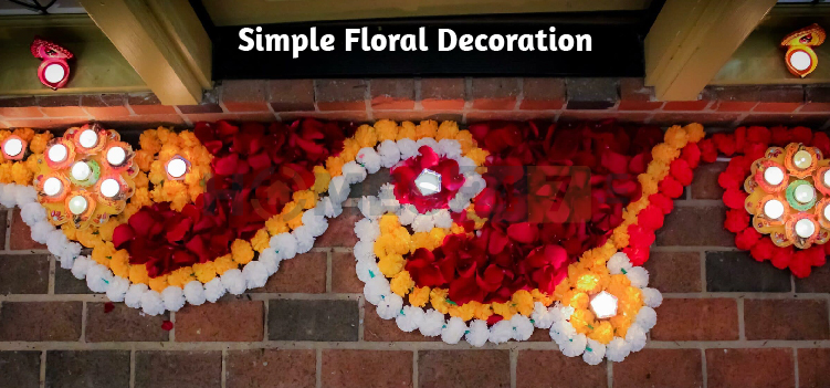 simple floral decoration