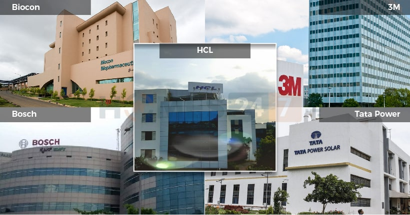 Best Companies in Electronic City