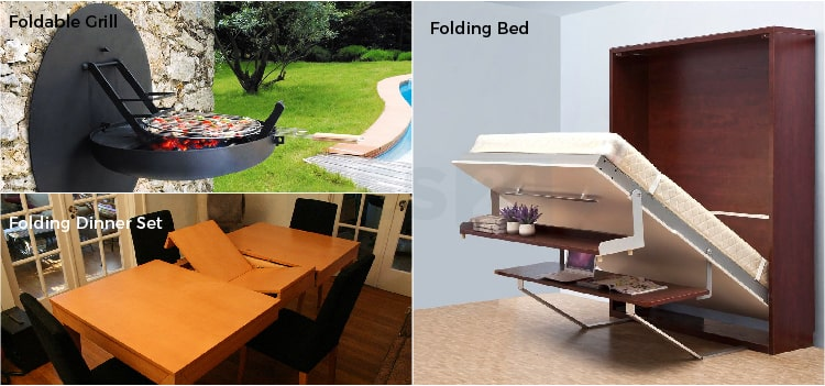 folding grill & bed