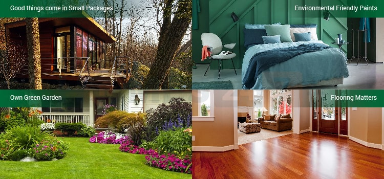 how to create a green home