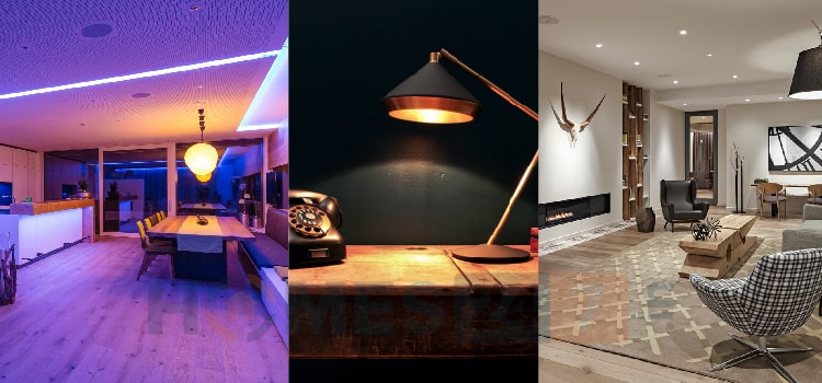 Different types of lights for home
