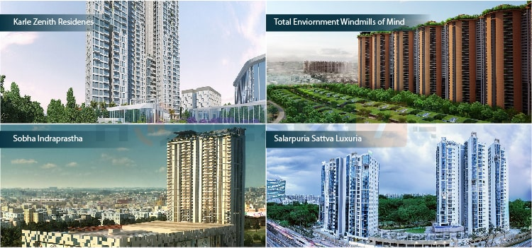 Ongoing apartments in Bangalore