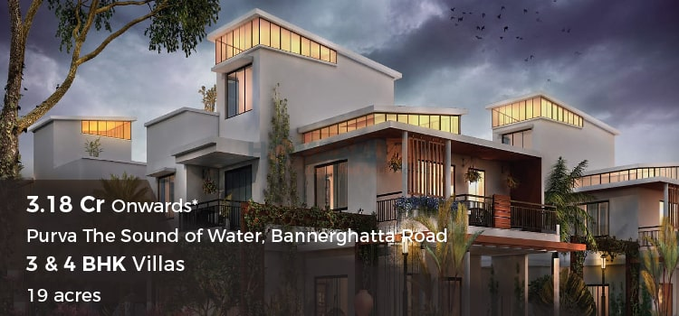Purva Sound of The Water- Villas in Bannerghatta Road