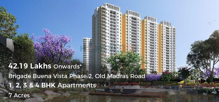 Brigade Buena Vista -Apartments in Old Madras Road