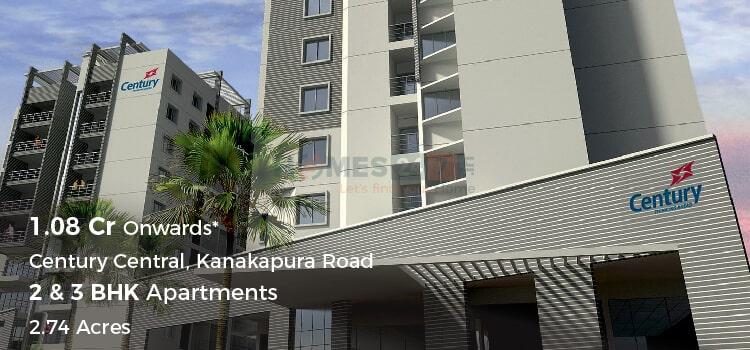 Century Central Apartments in Kanakapura Road