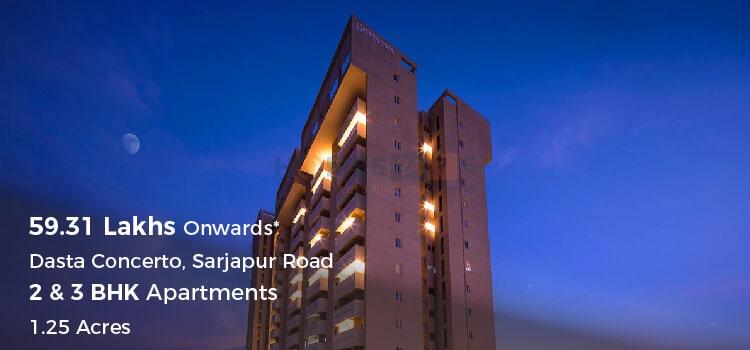 Dasta Concentro Apartments in Sarjapur Road