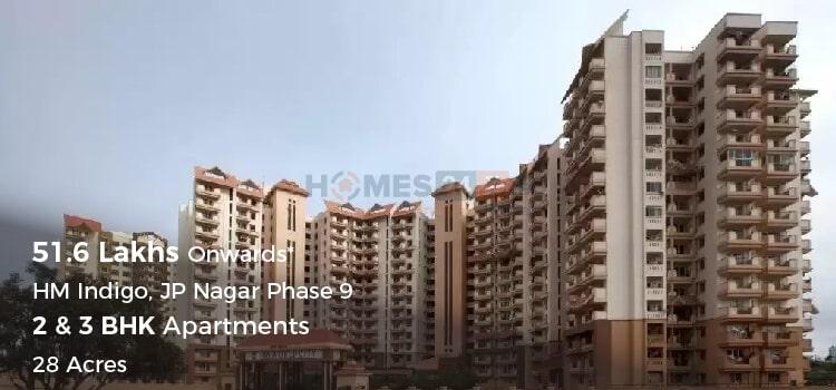 HM Indigo Apartments in JP Nagar