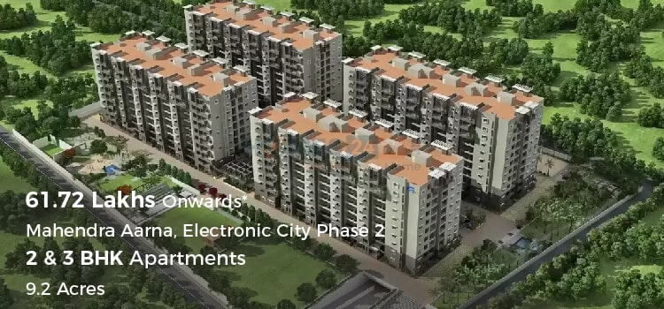Mahendra Aarna Apartments in Electronic City