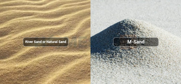 types of sands in india