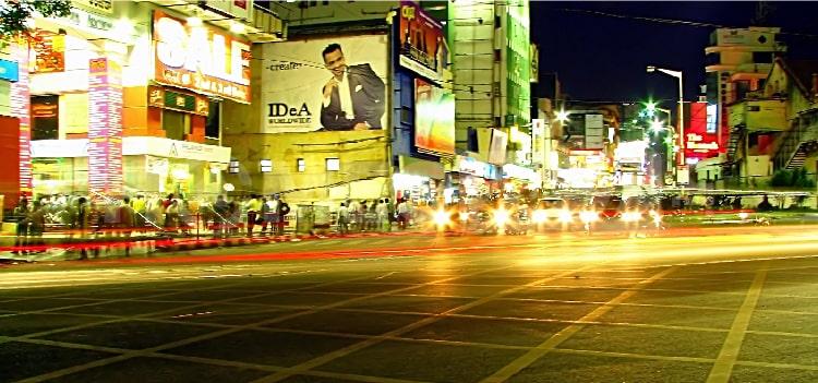 Silicon Valley of India Bangalore Brigade Road