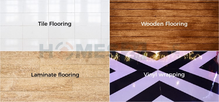 Different Flooring Options for Home