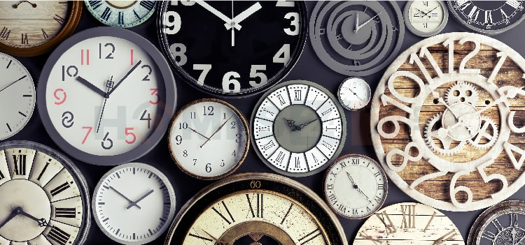 types of wall clock