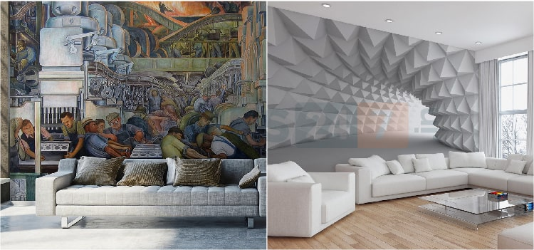 6 Modern Wallpaper Design Ideas For Home Homes247 In