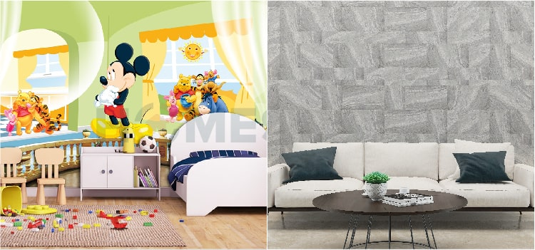 Kids Room Wallpaper Design