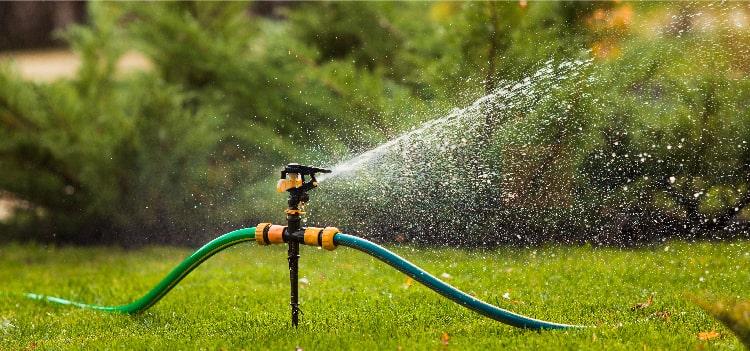 Water Conservation in Outdoor Garden Sprinkler