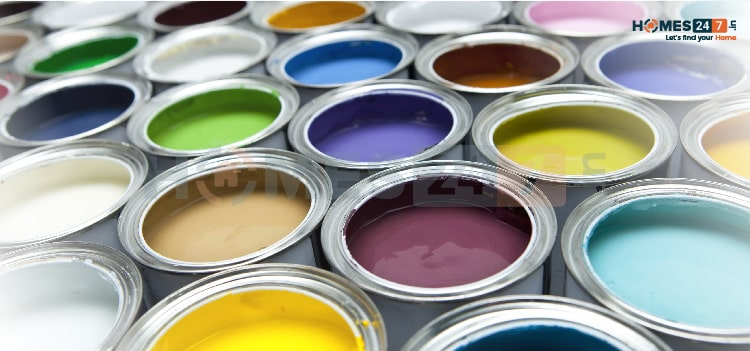 different types of paints and finishes