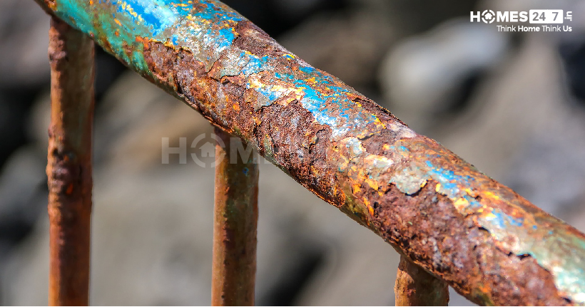 Prevent rust from your home