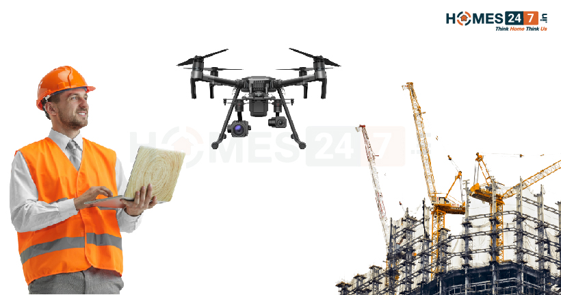 Drones in Construction Technology