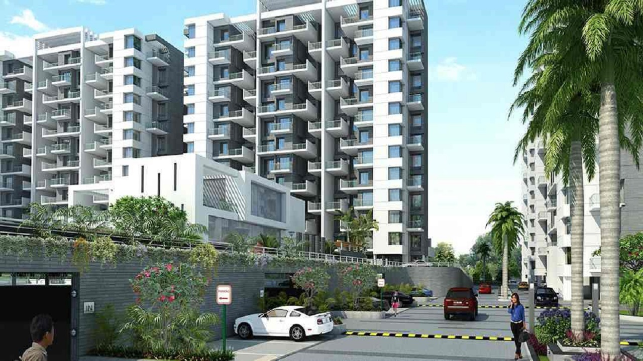 Paranjape Trident Towers apartment