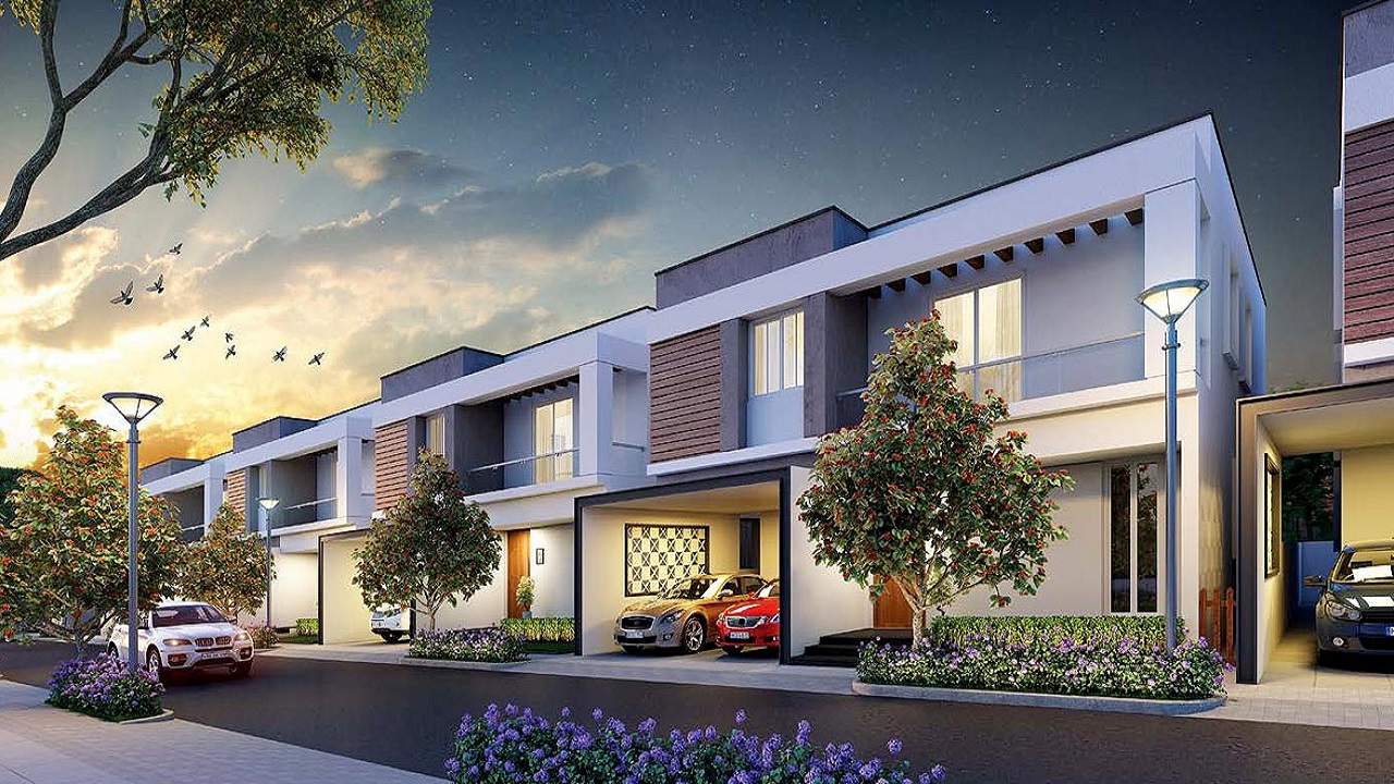 Nambiar Ellegenza Villas in Sarjapur Road