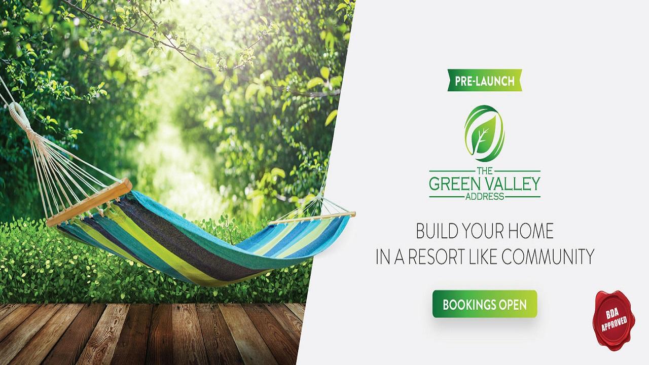 The Green Valley Address Plots in Kengeri