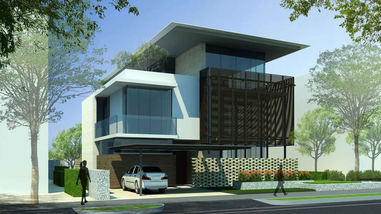 Embassy Boulevard villa in north bangalore