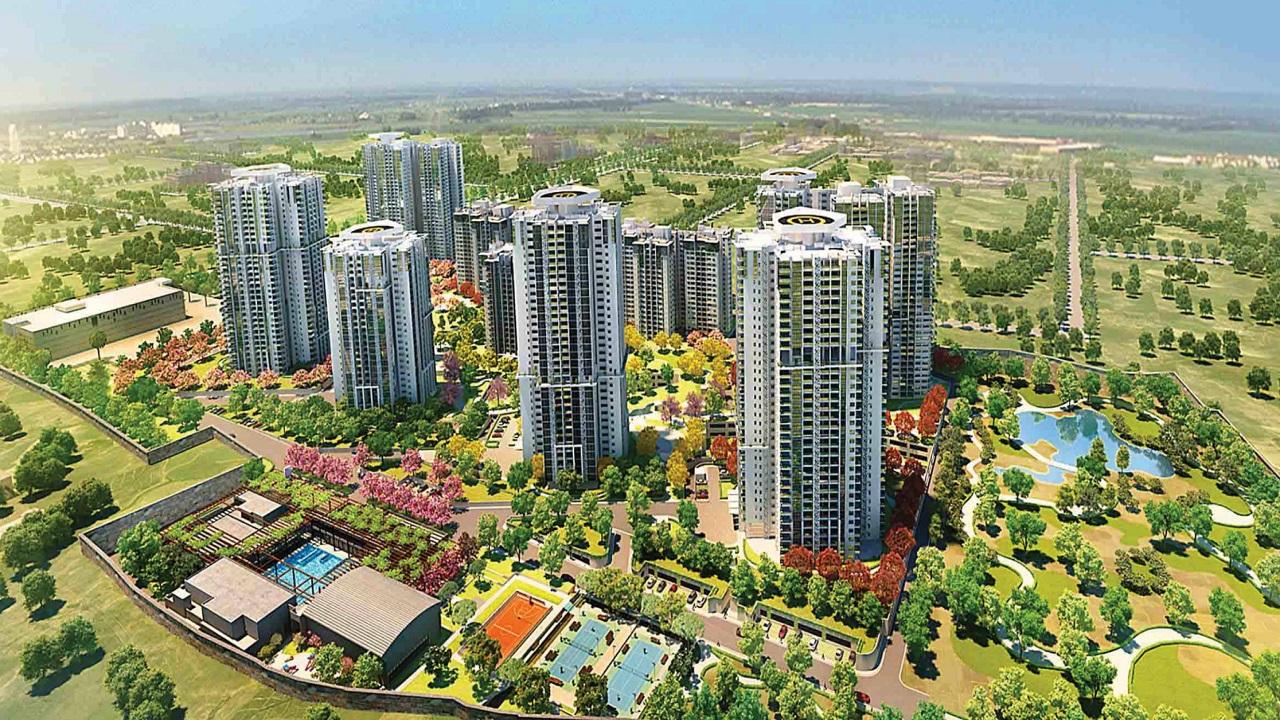 Shapoorji Pallonji Parkwest floorplan