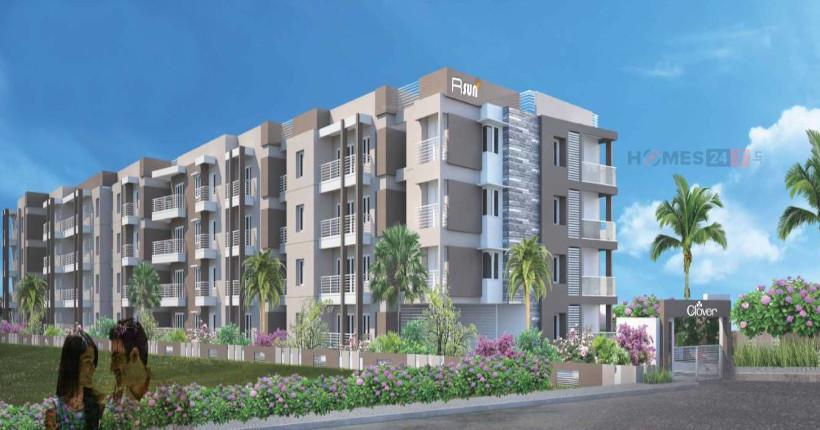 R-Sun Clover Apartment floorplan